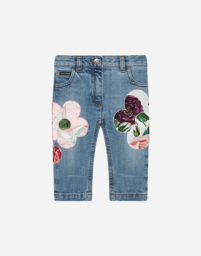 JEANS WITH EMBROIDERY