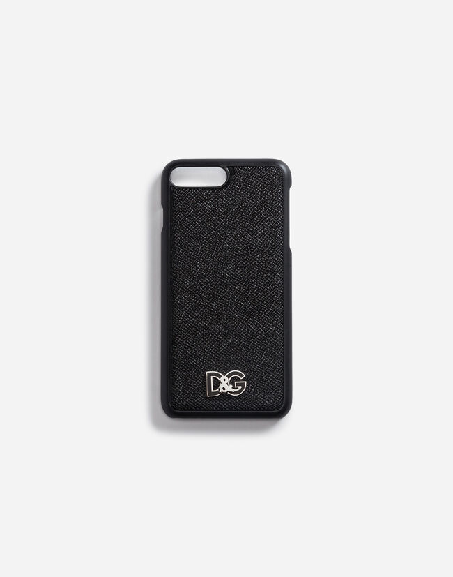 IPHONE 7 PLUS COVER WITH DAUPHINE CALFSKIN DETAILS