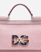 Dolce&Gabbana MINI SICILY BAG IN LUREX FABRIC