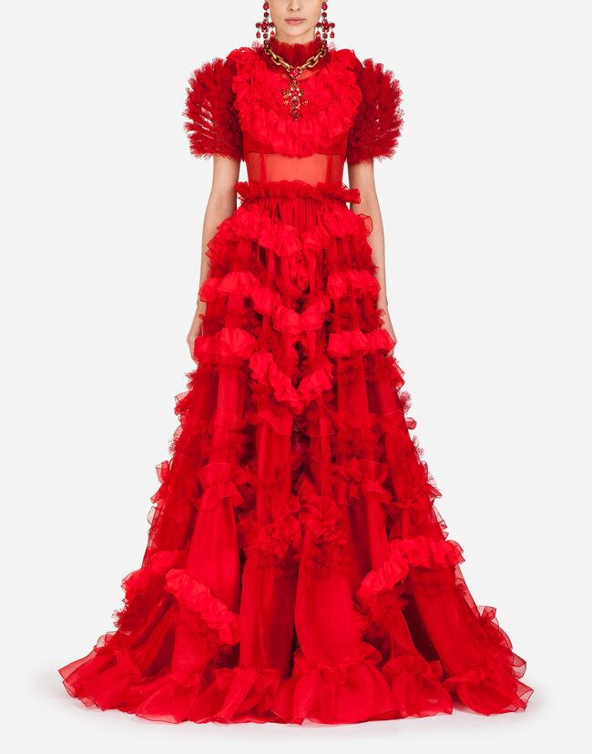 Womens Dresses Dolcegabbana Silk Organza Dress