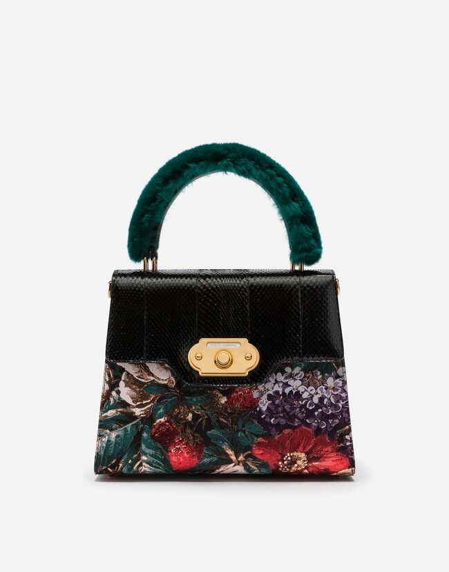 Welcome Handbag In A Mix Of Materials