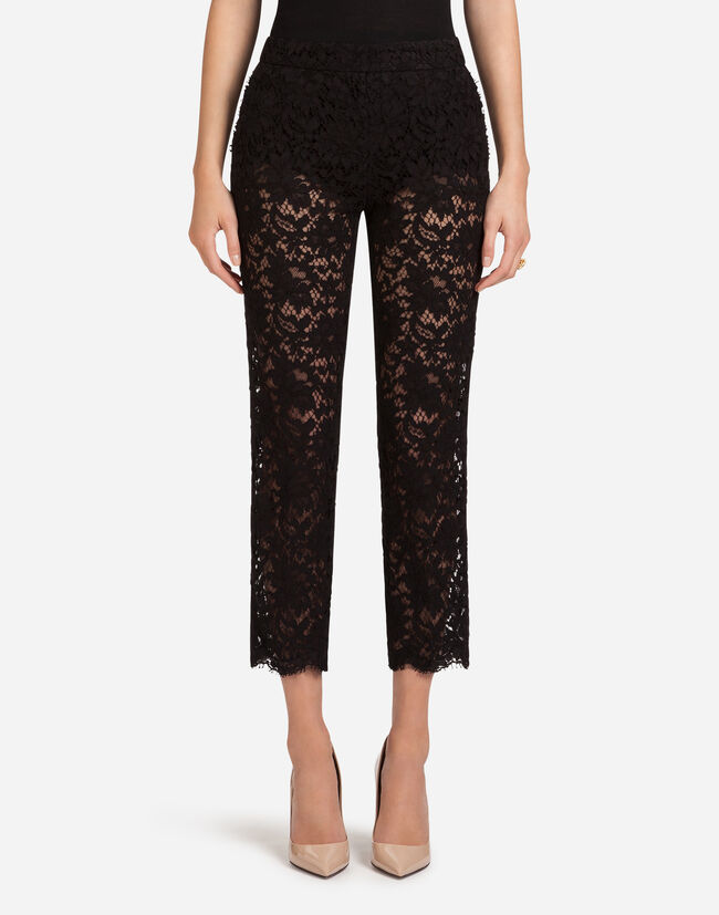 CORDONETTO LACE PANTS
