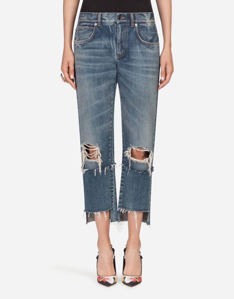 Jeans femme   toutes les coupes denim   Dolce Gabbana 4f29b76997ad