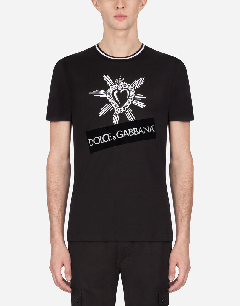 e5efe9c2899 T-shirts and Polo for Men | Dolce&Gabbana