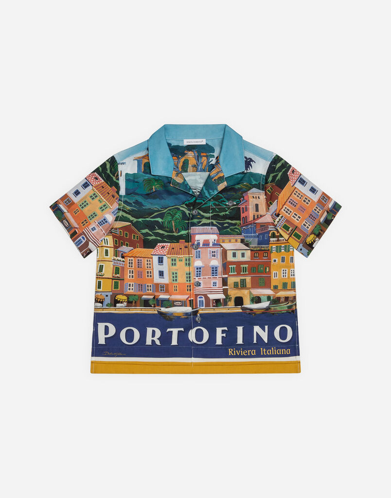Dolce&Gabbana PRINTED COTTON SHIRT