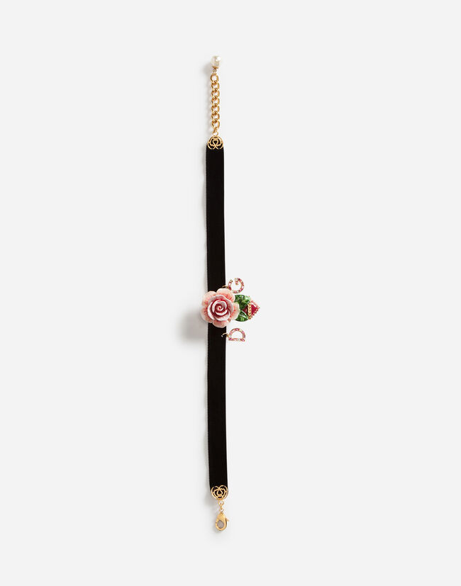 Dolce&Gabbana CHOKER WITH DECORATIVE ELEMENTS