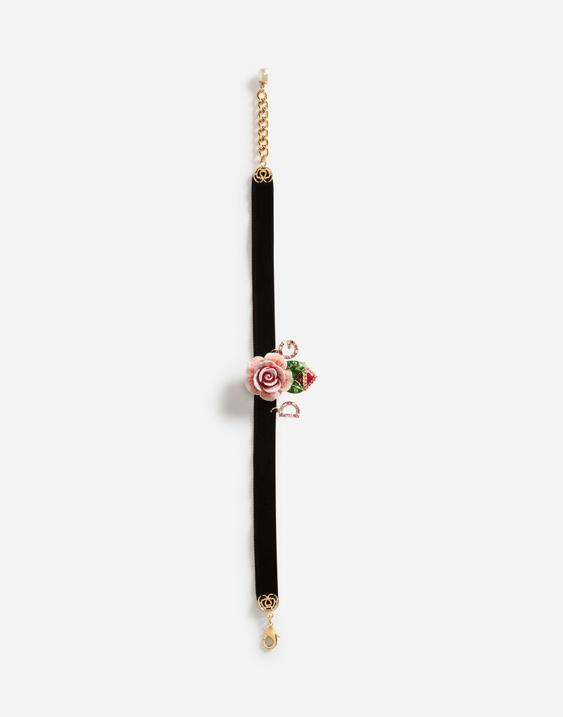 CHOKER WITH DECORATIVE ELEMENTS