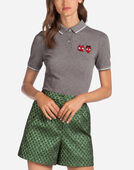 Dolce & Gabbana COTTON POLO SHIRT WITH PATCH