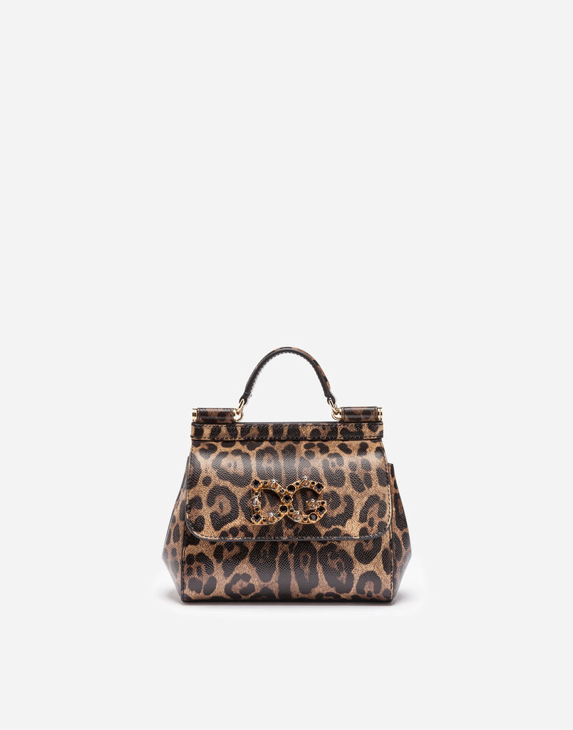 MINI SICILY BAG IN PRINTED LEATHER