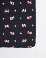 MIMMO THE DOG BLANKET IN PRINTED COTTON