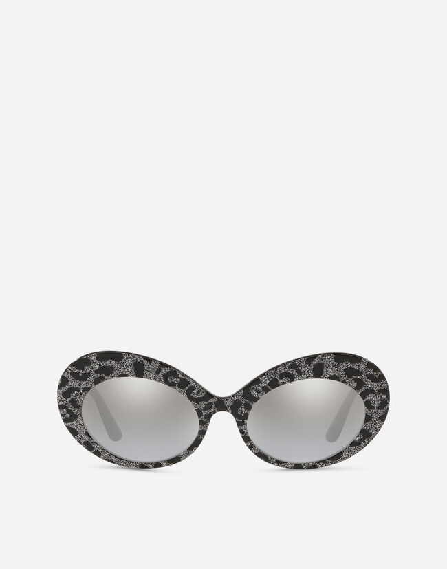 Dolce & Gabbana OVAL SUNGLASSES IN ACETATE