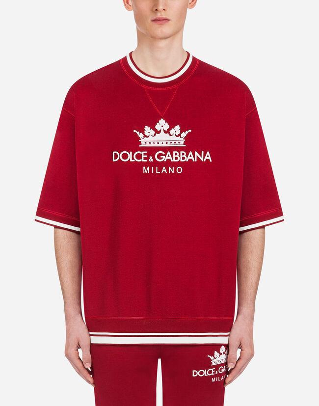 Dolce&Gabbana COTTON SWEATSHIRT WITH PRINT