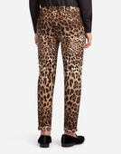 Dolce&Gabbana PRINTED COTTON PANTS