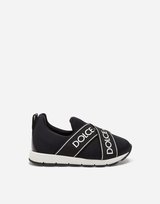 Dolce&Gabbana NEOPRENE SLIP-ON SNEAKERS