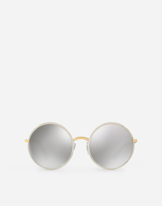 Dolce & Gabbana VINTAGE-STYLE METAL SUNGLASSES