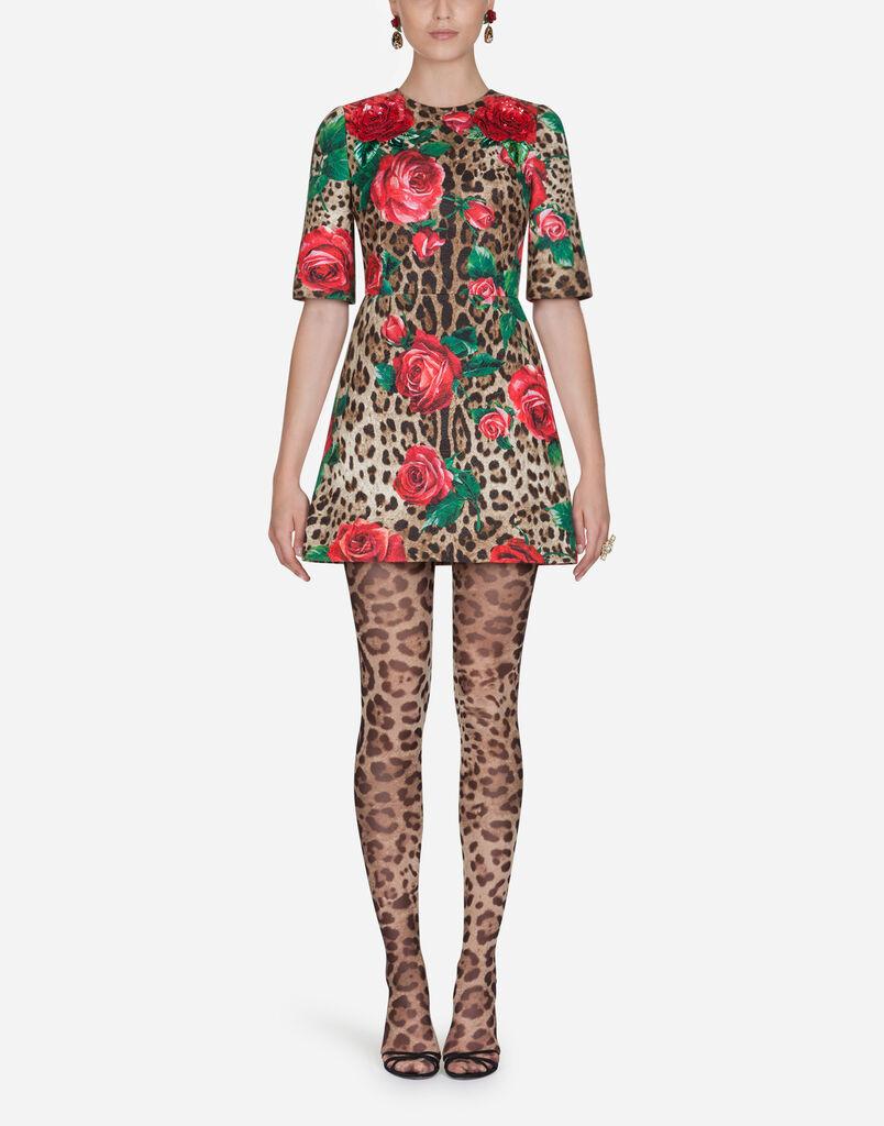 Dolce   Gabbana DRESS IN PRINTED BROCADE 17778c78c3