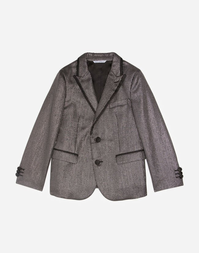 BLAZER IN WOOL LAMÉ