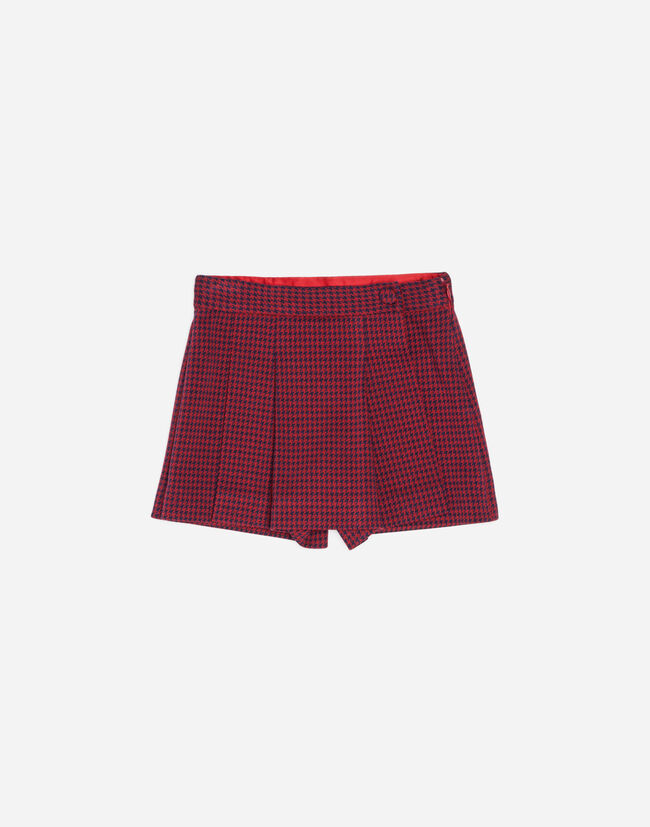 BERMUDA SHORTS WITH FRONT PANEL