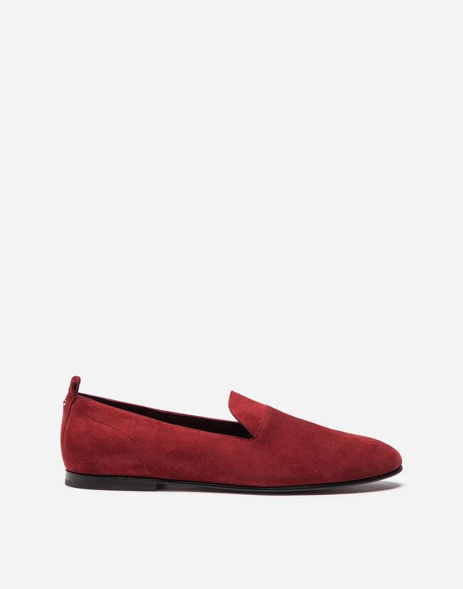 Dolce&Gabbana SPLIT-GRAIN LEATHER SLIPPERS