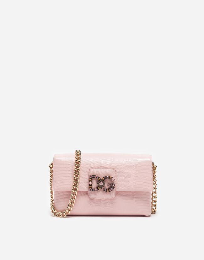 Dolce&Gabbana DG MILLENNIALS BAG IN LEATHER