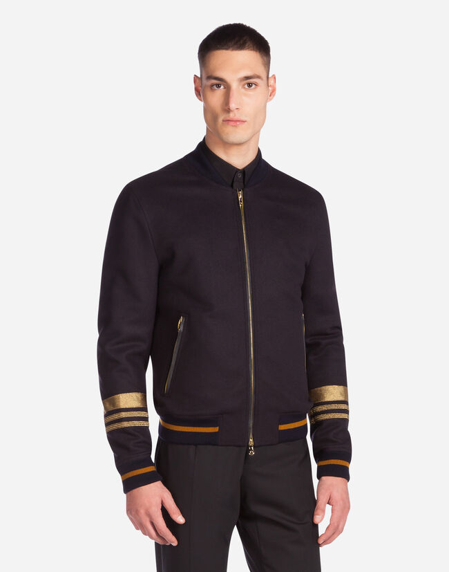 BROADCLOTH BOMBER JACKET